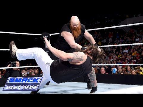 Erick Rowan vs. Bray Wyatt: SmackDown, January 02, 2015
