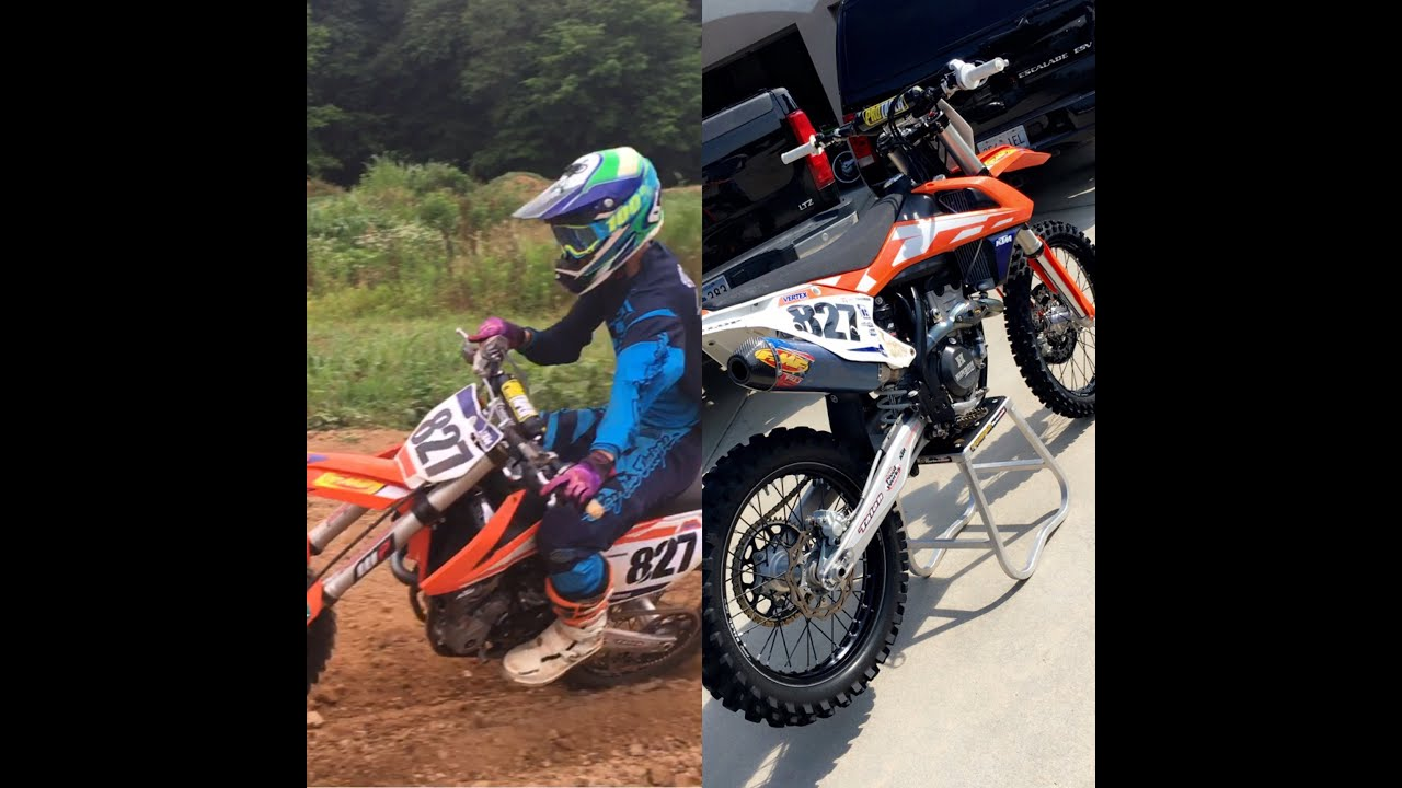 my new 2016 ktm 250sxf and first ride! - youtube