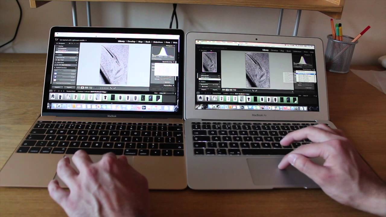 Retina Macbook 12 Quot Vs Macbook Air Speed Tests Lightroom