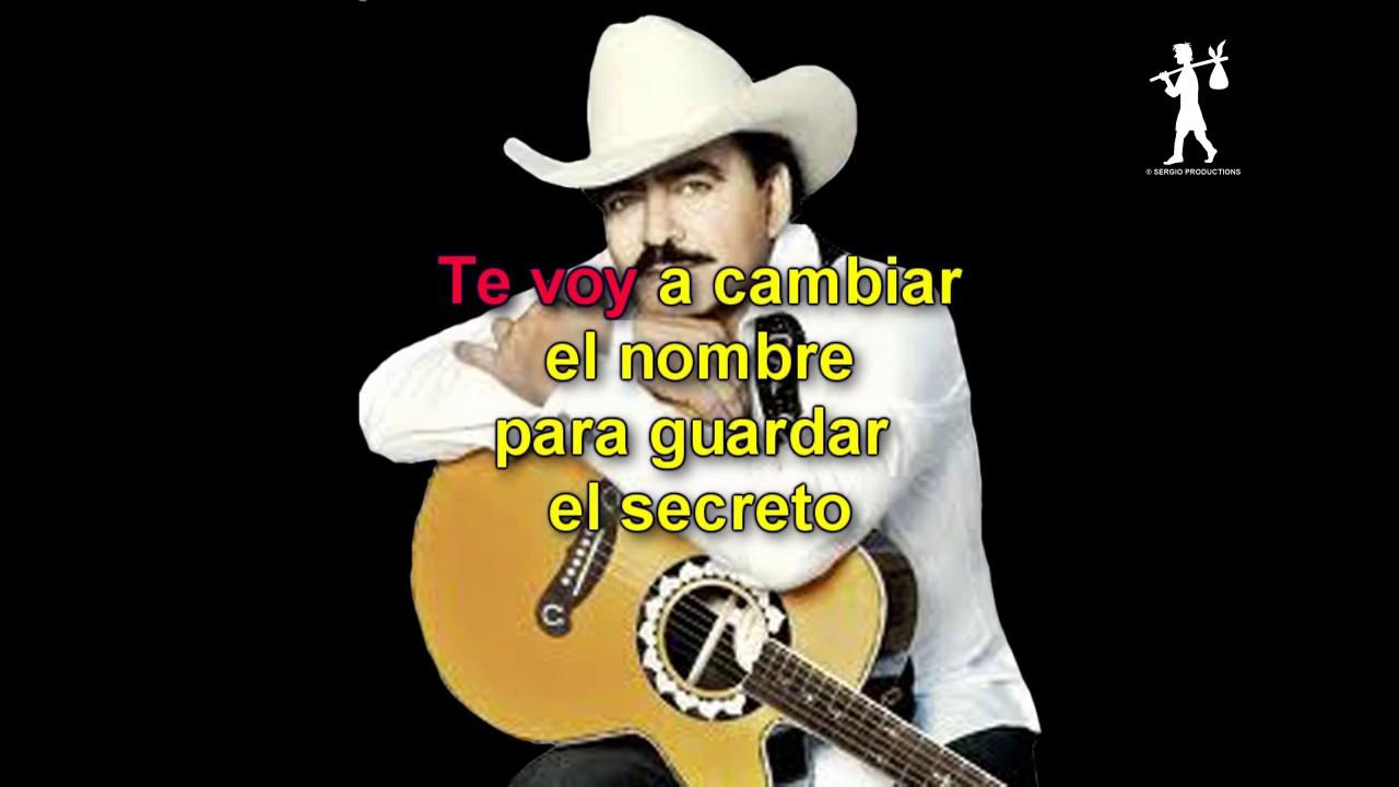 Joan Sebastian Secreto De Amor Karaoke Sergio
