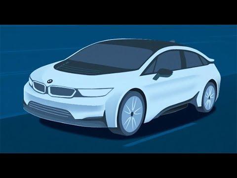 BMW Teases i5 Concept for Frankfurt