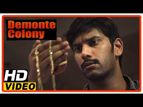 Demonte Colony Tamil Movie | Scenes | Sanath Steals The Chain From Demonte Colony