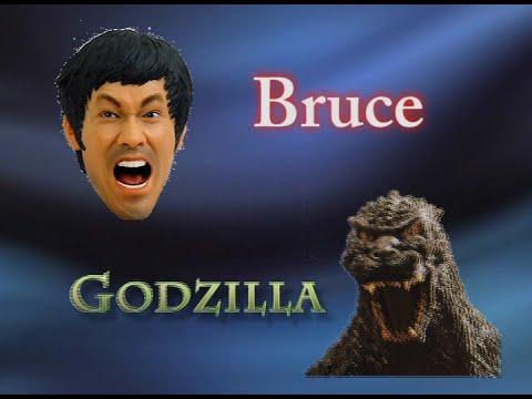 Bruce Lee vs. Godzilla