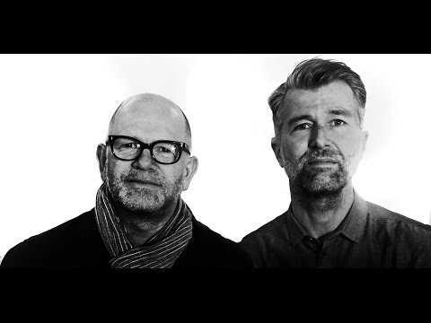 Designers Luke Pearson and Tom Lloyd  in London