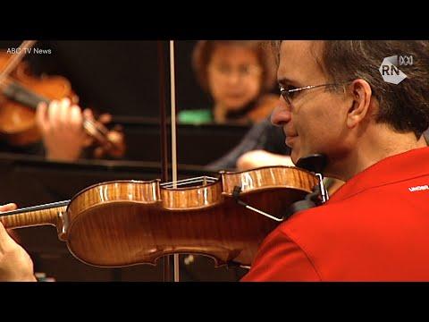 Gil Shaham plays J.S. Bach [HD] The Music Show, ABC RN