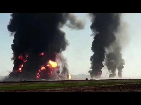Dozens hurt in fire near Afghanistan-Iran border