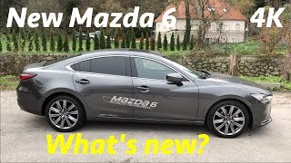 2019 Mazda 6 first FULL in-depth review in 4K - top package (interior/exterior)