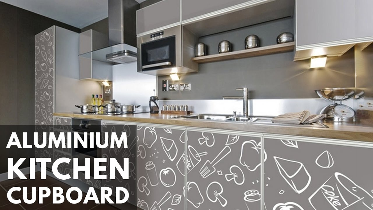 Aluminum Kitchen Cupboard Design Ideas And Photos 2017 Youtube