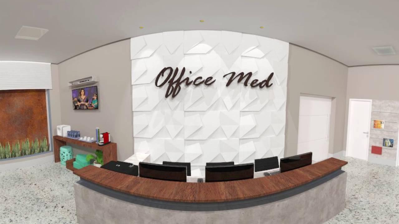 Recepção Clinica Médica 360° - Stúdio Arq Connect