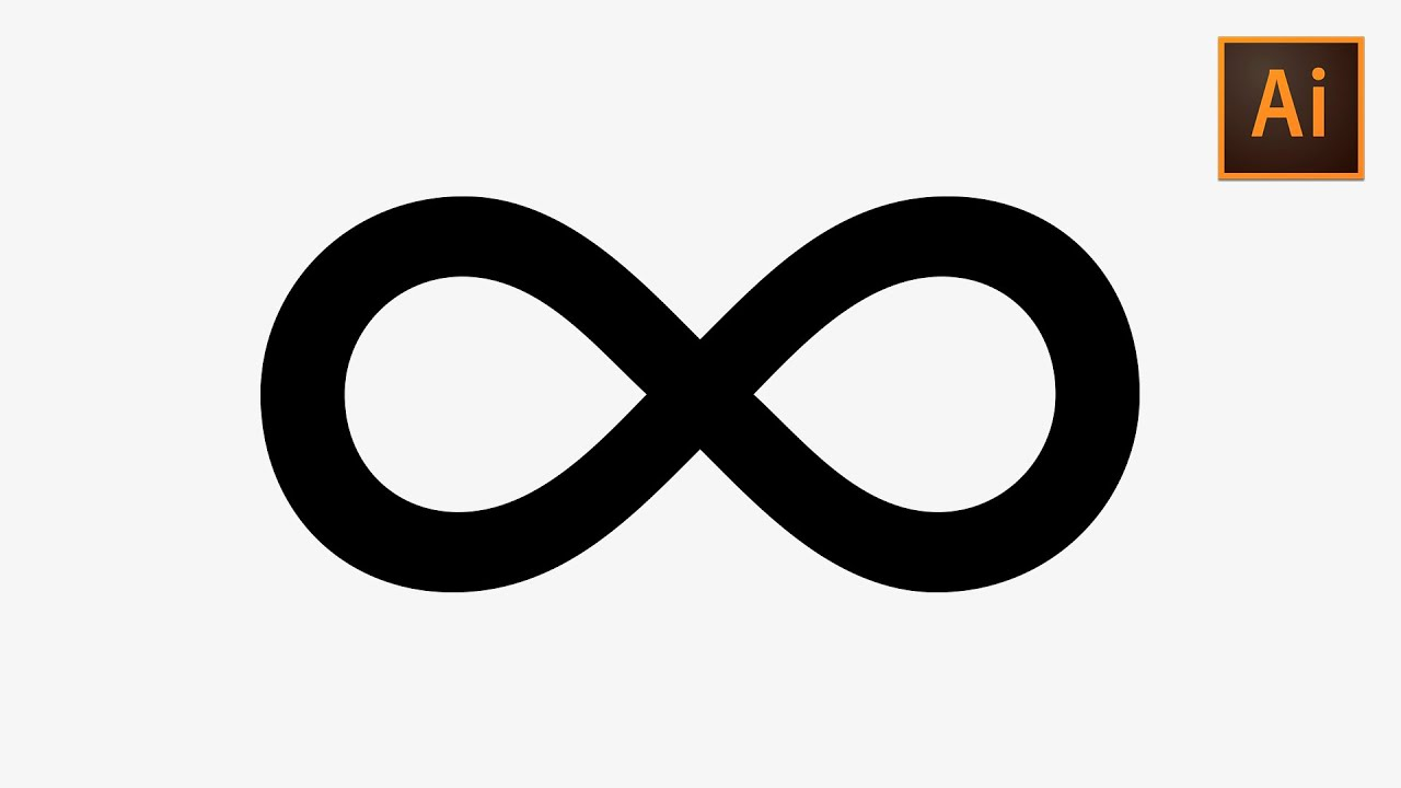 Learn How to Quickly Create an Infinity Symbol in Adobe Illustrator  Dansky