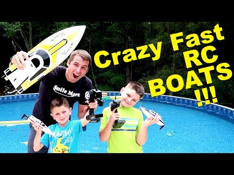 Thumbnail: OUT OF CONTROL RC BOAT ACTION! lesson learned.....