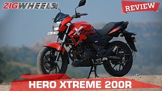 Hero Xtreme 200R Review | A 200 for a 160cc money, sensible? | ZigWheels