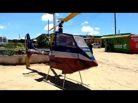 Locally made Helicopter