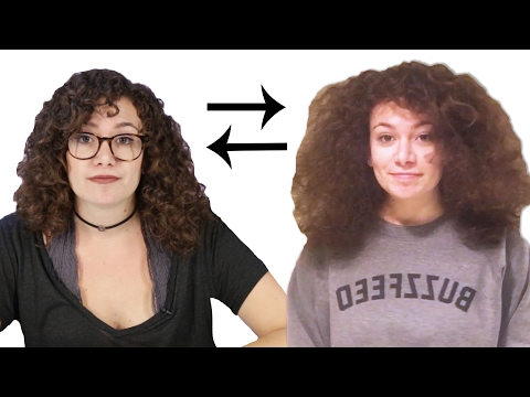 Thumbnail: Women Swap Hair Routines For A Week