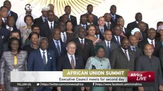 AU Executive Council meet for second day
