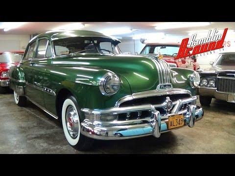 1951 Pontiac Sedan Straight 8 at Country Classic Cars