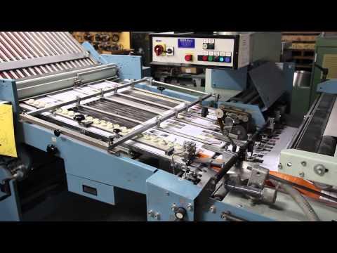 Cutting Folding - On Line Bindery Capability