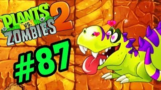 ✔️T REX KHỦNG LONG BẠO CHÚA - Plants Vs Zombies 2 Tập 87 - Hoa Quả Nổi Giận 2 Android, Ios