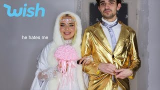 getting married but actually its a really bad wish haul