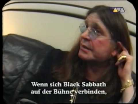 Black Sabbath Interview VIVA TV (Part 1)