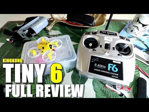 KingKong TINY 6 Review - 65mm Micro RTF FPV Drone