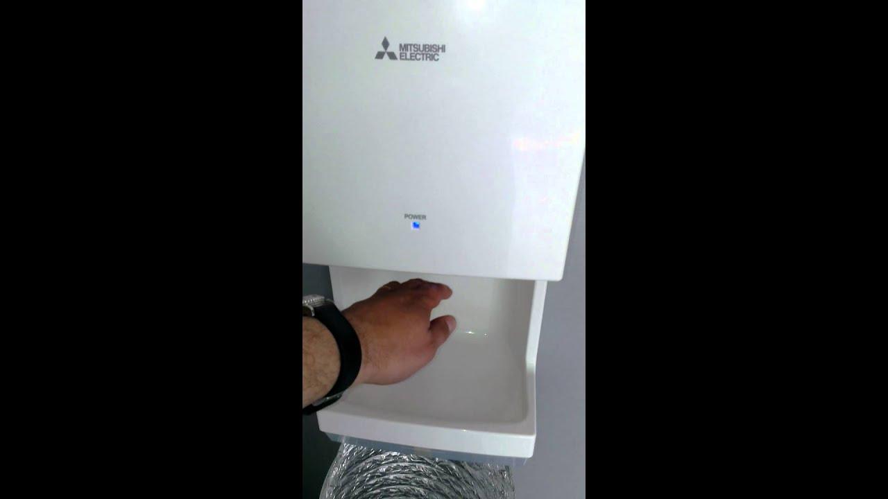 mitsubishi electric jet towel mini youtube. Black Bedroom Furniture Sets. Home Design Ideas