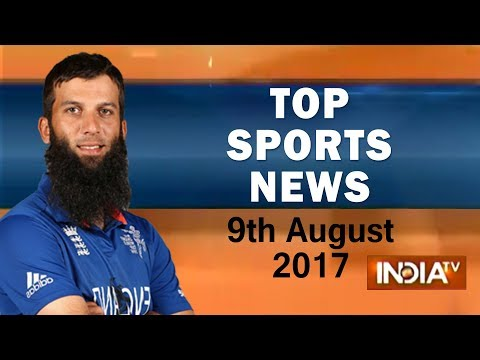 Top Sports News | 9th August, 2017 - India TV