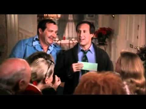 christmas vacation bonus check scene - Jelly Of The Month Club Christmas Vacation