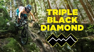 Attempting a TRIPLE Black Diamond Trail | Wild Cherry