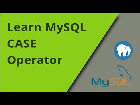 Learning MySQL - CASE Operator