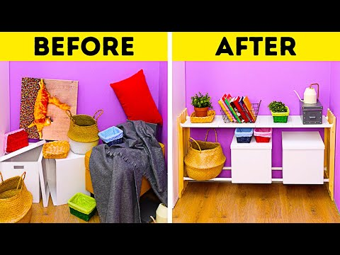 How To Store Things Properly || Organization Ideas