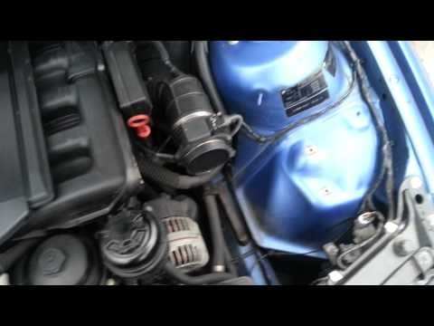 How to fit a BMW e46 325 ci M3 K&N Induction Kit Air Filter INTAKE SYSTEM  sounds great