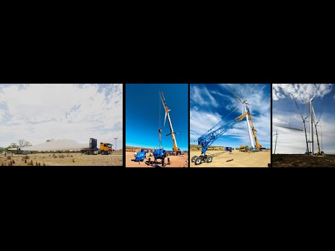 CONCORD CRANES SERVICING THE RENEWABLE ENERGY SECTOR