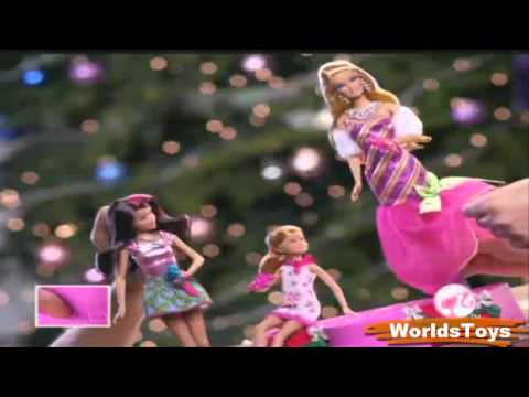 2011º BARBIE™ : A PERFECT CHRISTMAS Dolls & Stage Commercial - YouTube