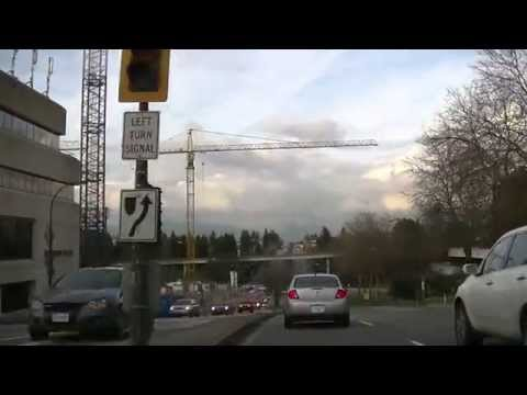Driving in Vancouver CANADA on BOUNDARY ROAD South to North | Burnaby British Columbia | HD
