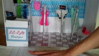 How To Make A Doll House  (clothes Shop)