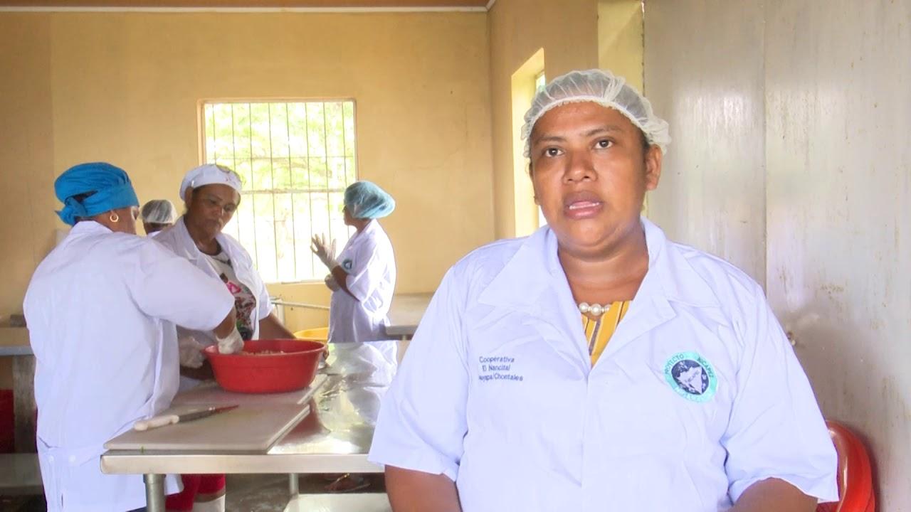 Madres que viven de la pesca artesanal Nancital