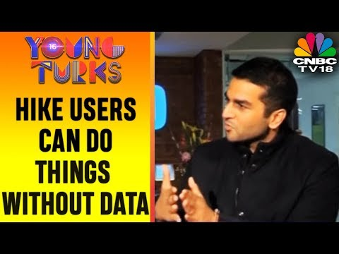Hike Users Can Now Chat, Read News Without Mobile Data   YOUNG TURKS   CNBC TV18
