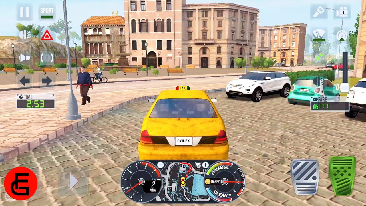 Taxi Sim 2020 #4 - Taxi Driver Simulator Game   Android Gameplay   Friction Games