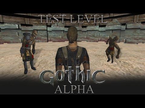 Test Level - Gothic Alpha