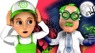 Despicable Doctor kidnapped the Moon! Handy Andy saves the city! New Kids story 2019!
