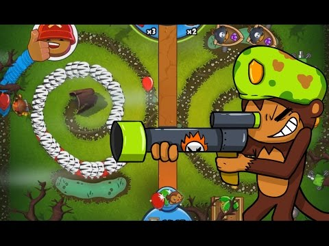 Sniper is BEASTLY - Bloons TD Battles