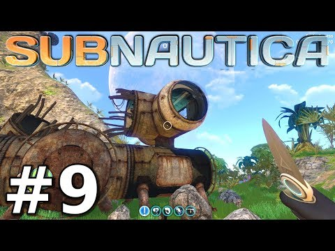Subnautica - Abandoned Base on Floating Island!! - Subnautica Gameplay - Episode 9