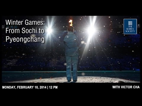 Winter Games: From Sochi to Pyeongchang with Victor Cha
