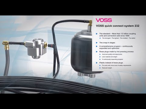 VOSS Quick Connect System 232