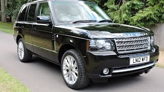 Range Rover Westminster 2012 Videos