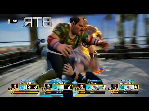 WWE 2K Battlegrounds Royal Rumble Match 20 Man