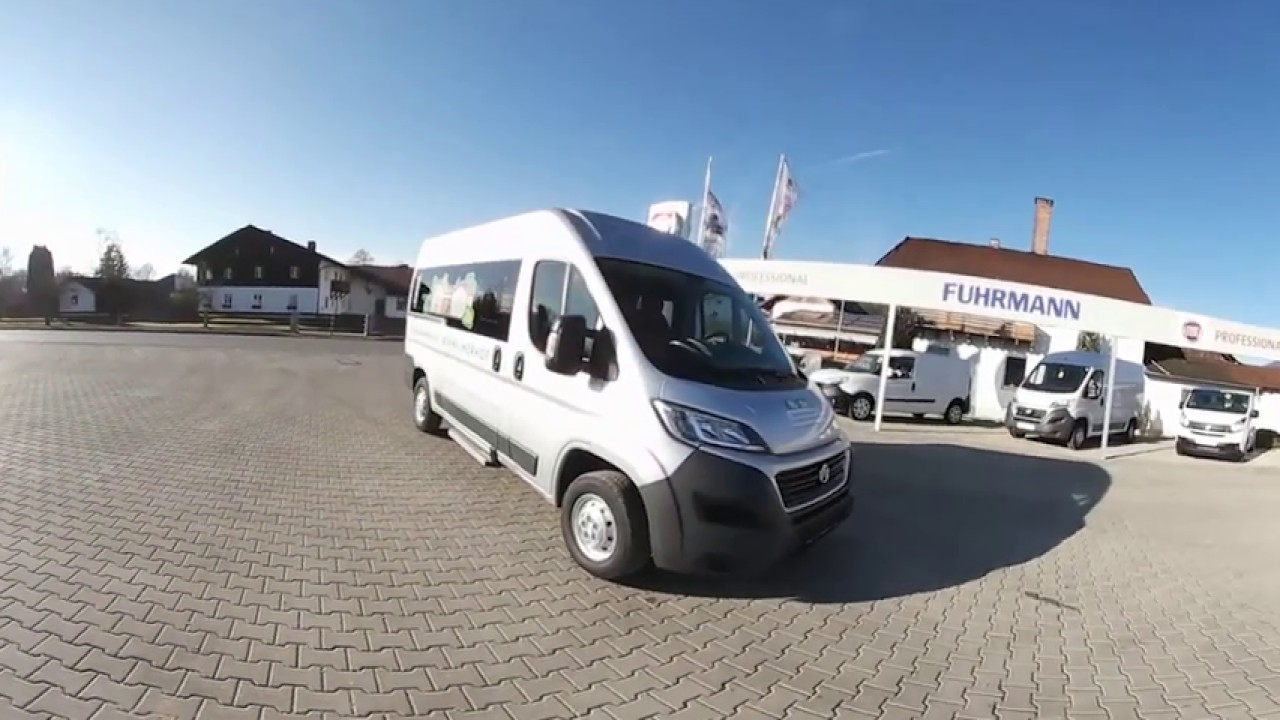 fiat ducato kombi modular l2h2 youtube. Black Bedroom Furniture Sets. Home Design Ideas