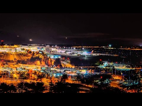 (HQ) Seattle Tacoma International Airport Timelapse