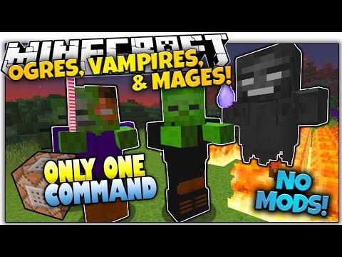 NEW MOBS IN VANILLA MINECRAFT! | NO Mods | Only One Command (Minecraft Vanilla Mod)